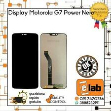 DISPLAY LCD TOUCH SCREEN MOTOROLA MOTO G7 POWER NERO XT1955-2 XT1955-2 SCHERMO