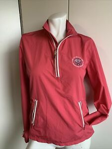 Womens 1/2 Zip Jacket 2007 U.S. Open Whistling Sraits Golf Jacket Pink