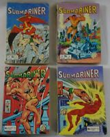 SUBMARINER - 4 recueils FLASH n° 572 - 622 - 698 - 723 - MARVEL Aredit - Hulk