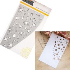 Stars Metal Cutting Dies Die Stencil Scrapbooking Card Paper Embossing Craft DIY