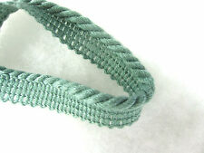 Sea green flanged cord SOLD PER METRE Upholstery sewing piping edge edging