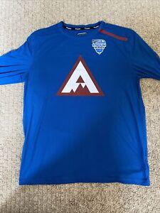 Colorado Avalanche 2020 Stadium Series Long Sleeve Shirt Large