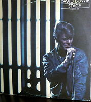 DAVID BOWIE  2 LP GATEFOLD COVER   STAGE MADE IN BELGIO I^ PRESS  1978