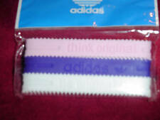 Adidas YOUTH Baller id Bands Wristbands Bracelets Pink Purple White 3 pk New!