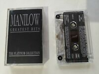 Barry Manilow – Manilow Greatest Hits The Platinum Collection  Cassette Tape