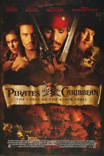 PIRATES OF THE CARIBBEAN CURSE OF THE BLACK PEARL MOVIE POSTER DS ORIGINAL 27x40