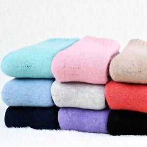 1Pair Winter Wool Cashmere Thick Thermal Socks Warm Dress Comfortable Socks