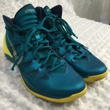 d312af438e0 Nike Men s Hyperdunk 2013 Basketball Shoes Size 16 Teal Yellow 599537-300