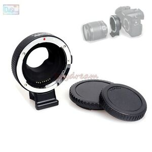 Commlite EOS-M43 Auto Focus Mount Ring Adapter 4 EF EF-S Lens to M4/3 MFT Camera