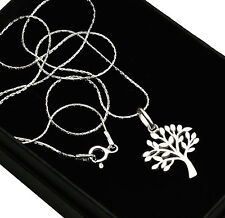 925 Sterling Silver Tree Necklace
