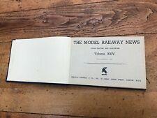 More details for model railway news jan - december 1948 ( hardback )