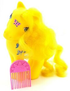 My Little Pony G1 TAF Dancing Butterflies Factory Curls Original Comb