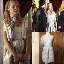 BCBGMaxazria Strapless Jacquard Dress SA ASO Caroline Forbes 4/S TVD