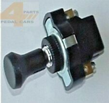 Vintage  Pedal Car Push Pull Miniature switch