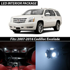 2007-2016 Cadillac Escalade White Interior LED Lights Package Kit