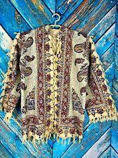 Rare Vintage Persian Traditional Ghalamkar Jacket