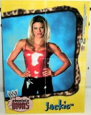 WWE - ABSOLUTE DIVAS 2002 - JACKIE GAYDA -  #2 - MINI POSTER