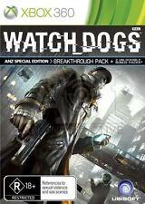Watch Dogs -- ANZ Special Edition (Microsoft Xbox 360, 2014)