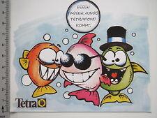Aufkleber Sticker Tetra - Fischfutter  (7120)
