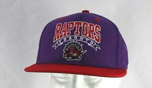 Toronto Raptors Purple/Red NBA Baseball Cap Snapback