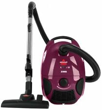 Bissell Vacuum, Zing Bagged Canister Purple,Cleaning Housework carpets Flooring