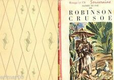 Robinson CRUSOE // Bibliothèque Rouge et Or - Souveraine // Daniel DEFOE // 1 Ed