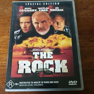 The Rock DVD R4 Like New! FREE POST