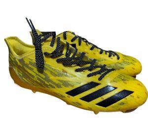 Adidas Adizero 5-Star 6.0 x Kevlar Football Cleats Yellow Black B42503 Sz12