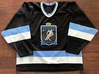 Atlanta Knights Vintage 90s Bauer Hockey Jersey Mens Adult XL IHL VTG Defunct