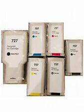 6 Pack Combo Compatible HP 727 Ink Cartridges For 300ml Designjet T920 Pritner