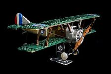 Lego 10226 Sopwith Camel - custom display stand only