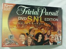 NEW Trivial Pursuit SNL DVD Edition Board Game 2004 Parker Brothers Sealed
