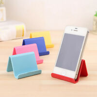 Mobile Phone Holder Candy Mini Portable Fixed Holder Home Supplies Plastic Stand