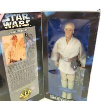 """Luke Skywalker Star Wars Collector Series 12"""" Poseasble Figure Kenner 1996"""