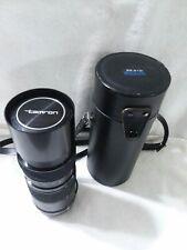 Tamron 85-210mm Zoom Manual Macro lens for Nikon camera Japan And carrying case.