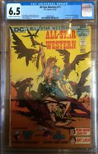 All Star Western #11 2nd App Jonah Hex Last Issue CGC 6.5 Cream To Off White
