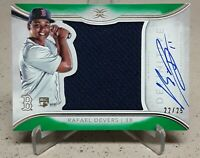 2018 Topps Definitive RAFAEL DEVERS Auto Rookie Jersey Relic Green /25