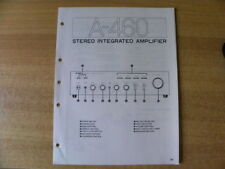Original Service Schematic for Yamaha A-460 Stereo Integrated Amplifier