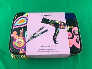 New Amika Mighty Mini Jet Set - Ionic Dryer & Mighty Mini Styler