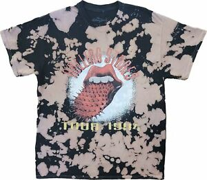 Men's The Rolling Stones Tie Dye Vintage Tour 1994 Retro Band T-Shirt Tee New
