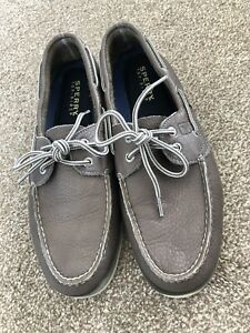 Sperry Top Sider Mens Boat Shoes Deck Loafers Size UK 9 (10M)