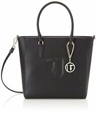 Trussardi Jeans Borsa Donna 75b00001 Ischia ecoleather Shopping Bag Nero K299