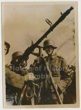 116550, Pressefoto: Marine-Artillerie schützt die Kanalküste. Fla-MG, MG 34, TOP