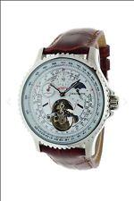 Chaumatte Mens Automatic Skeleton Watch