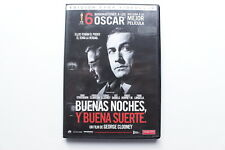 Goodnight and good luck-George Clooney-rental edition dvd