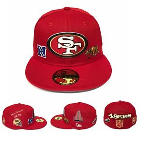 San Francisco 49ers LOCAL MARKET PACK Side Patch New Era 59FIFTY Fitted Hat Cap