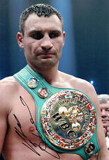 Vitali KLITSCHKO Champion Boxer Signed 12x8 Photo C AFTAL COA Boxing Dr Ironfist