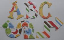 "Reminisce -BLAST OFF- Scrapbook Chipboard Letters Alphabet Embellishment 1.5"""