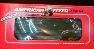 S Scale American Flyer #6-48806 Railway Express Agency Refrigerator Car