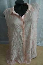 H&M  Bluse Rosa Weiß gepunktet gr 52  gut erhalten